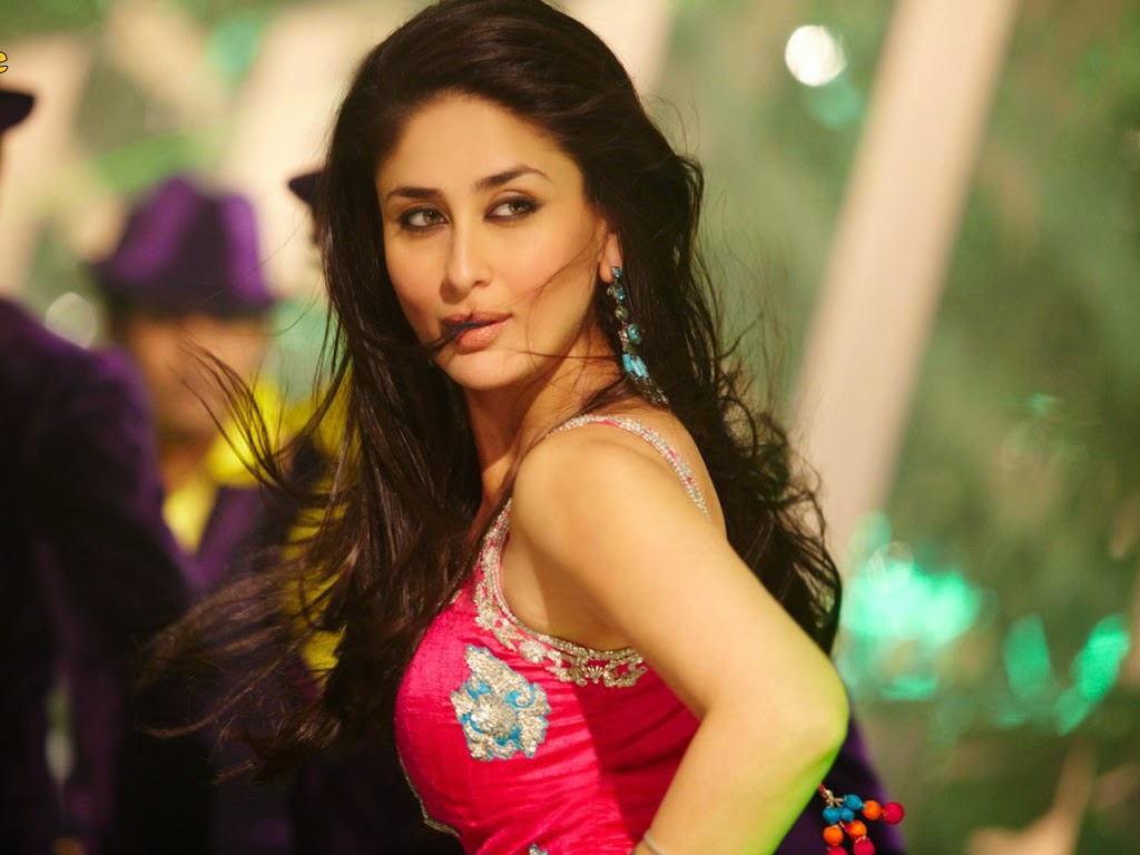 kareena kapoor bollywood movie actress bodyguard dance still wallpaper