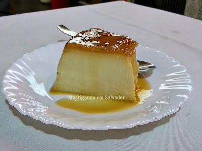 Solar do Bacalhau na Salvador Restaurant Week 2015: Pudim de Leite