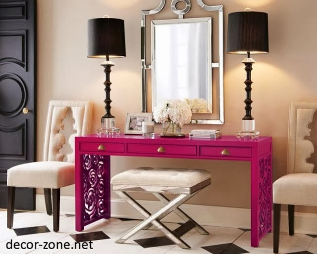 30 modern dressing table designs for bedroom ideas. Black Bedroom Furniture Sets. Home Design Ideas