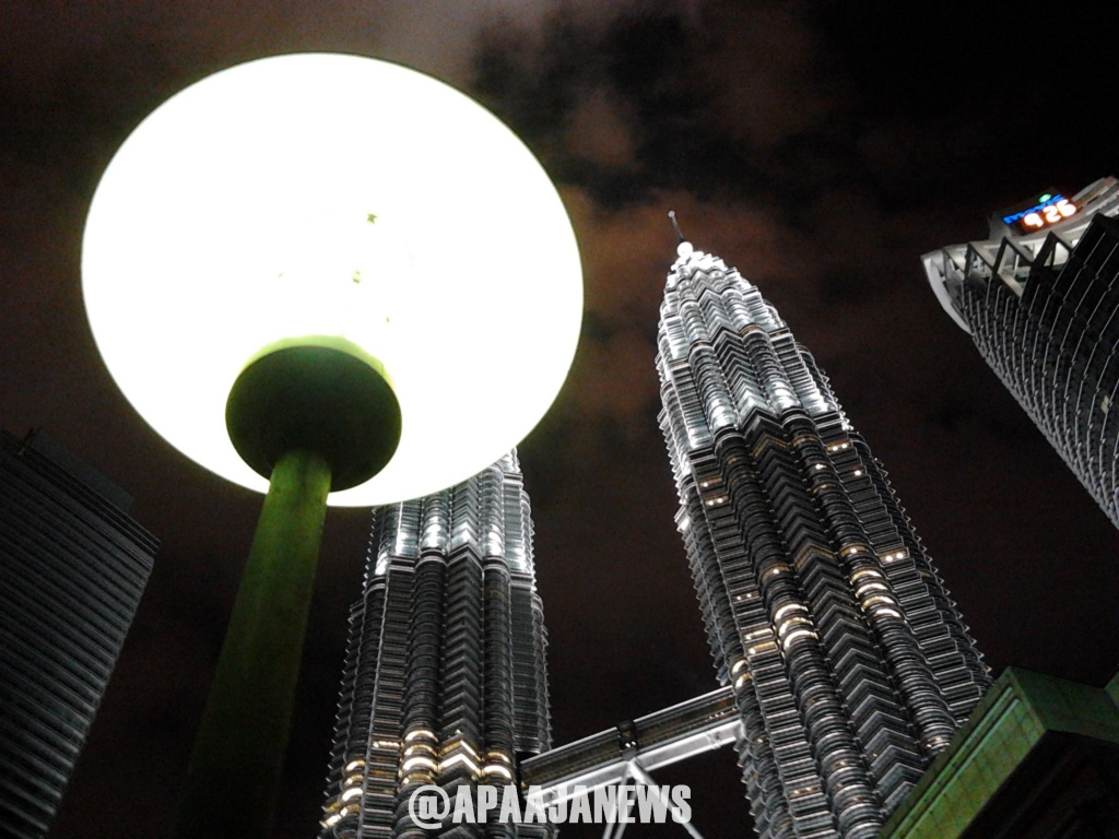 klcc twin tower photo