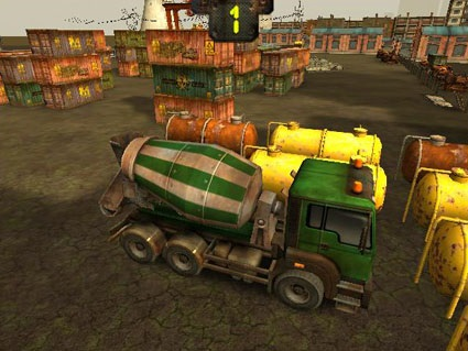 Skill 3D Parking: Radioactive Rumble