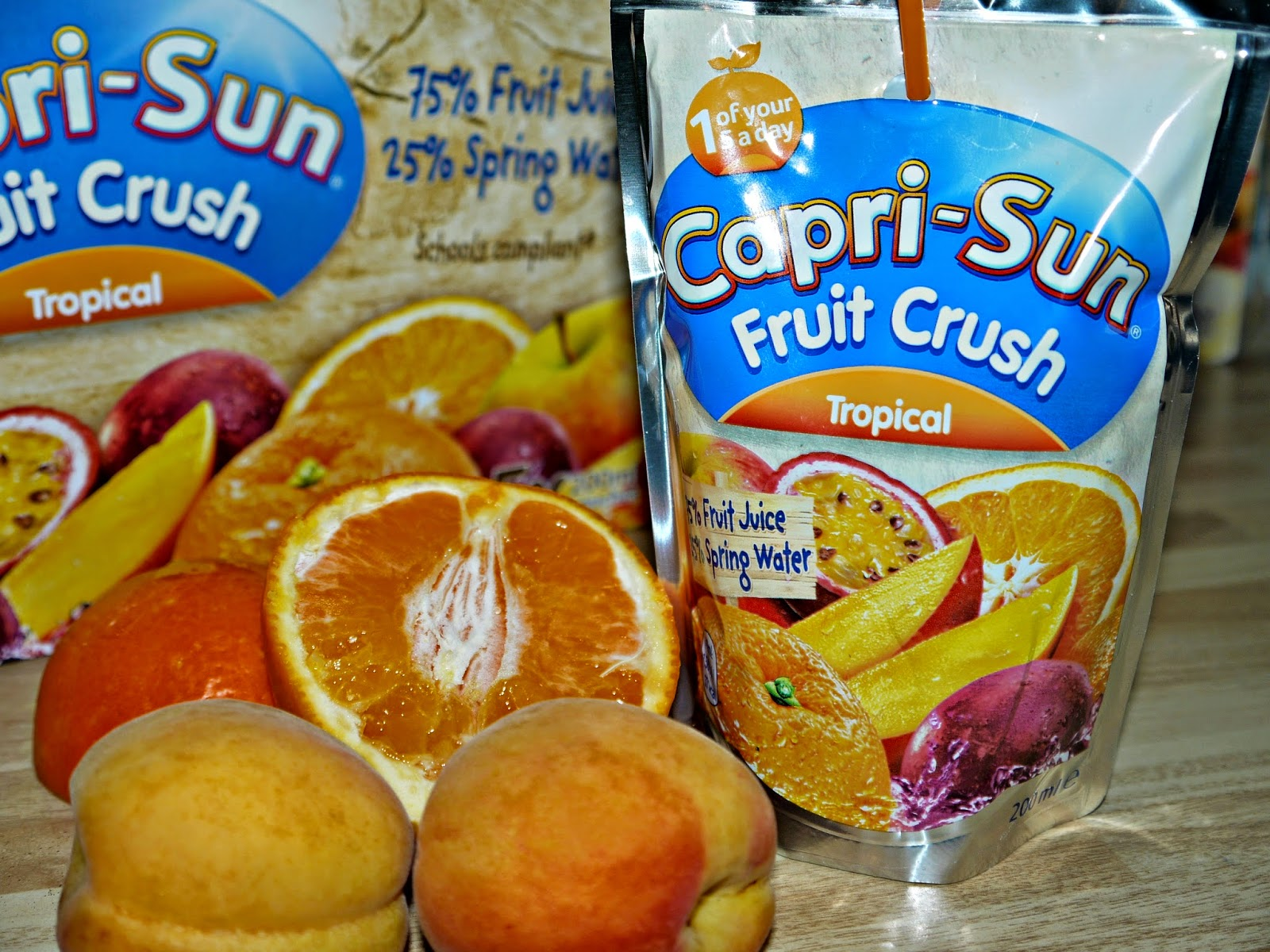 lunchbox ideas, Capri-Sun