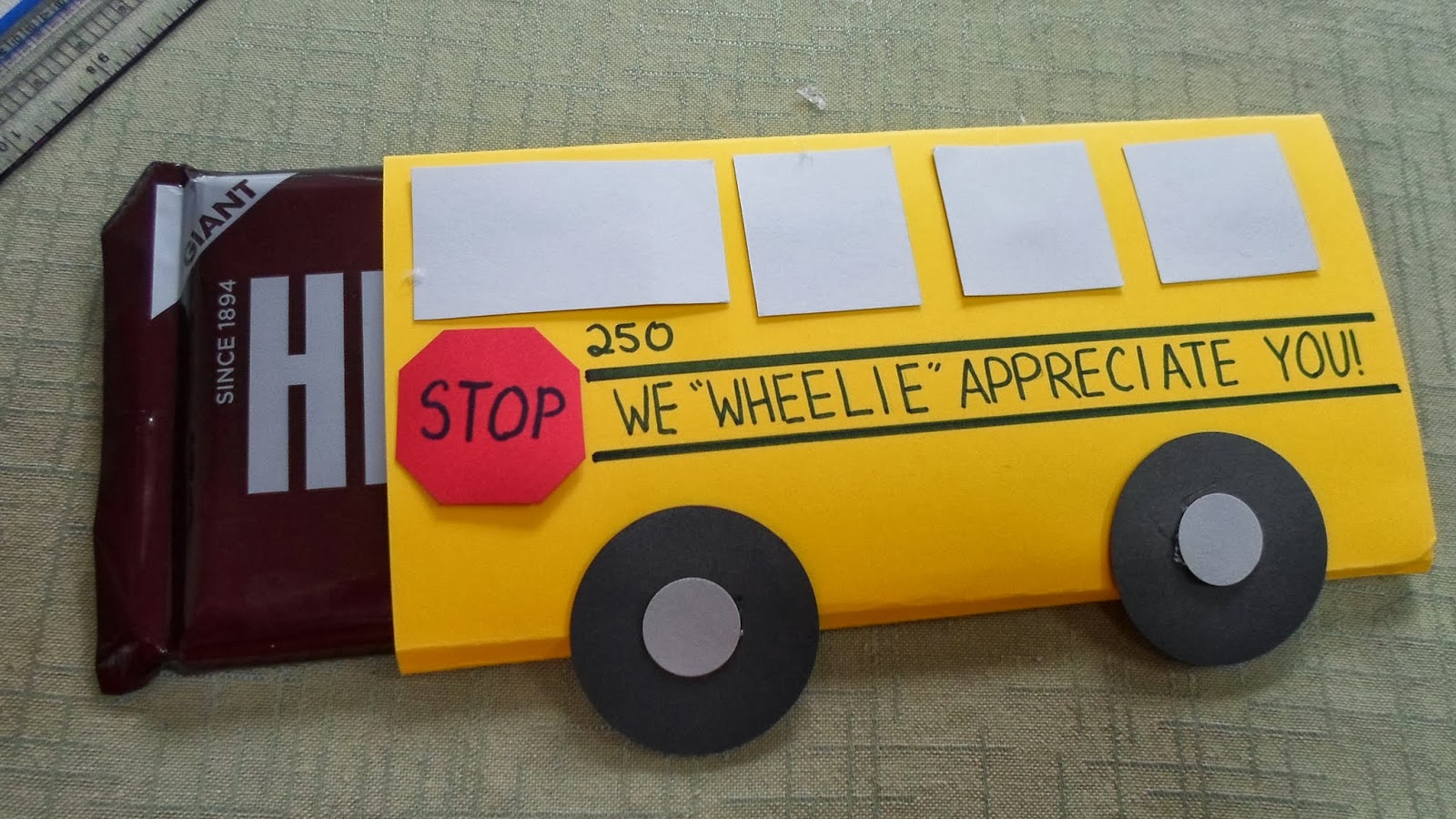 Mamajenna says it: Bus Driver Appreciation Week!