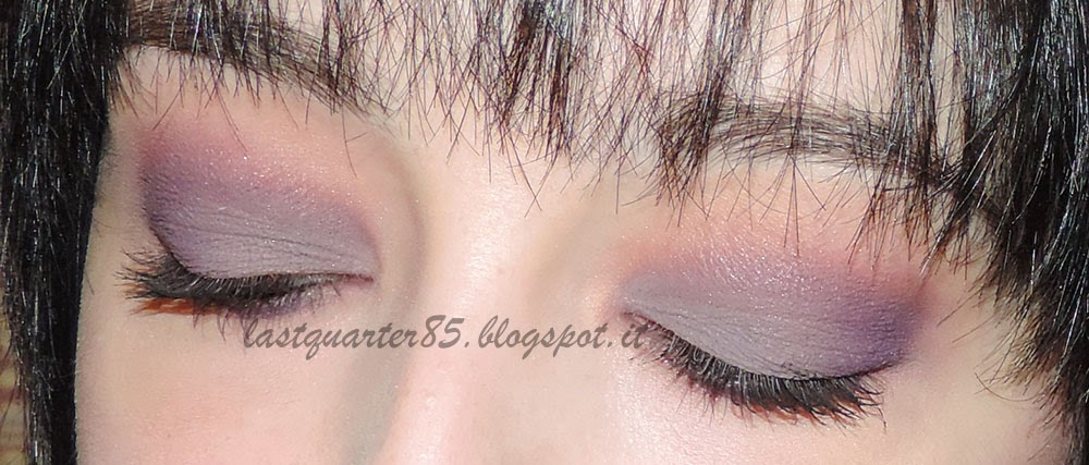 I'm in Love With... Cream Eyeshadow! Pupa Vamp! Cream Eyeshadow Velvet Matt in 601 Lilac Grey.