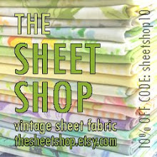 My vintage sheet fabric shop!