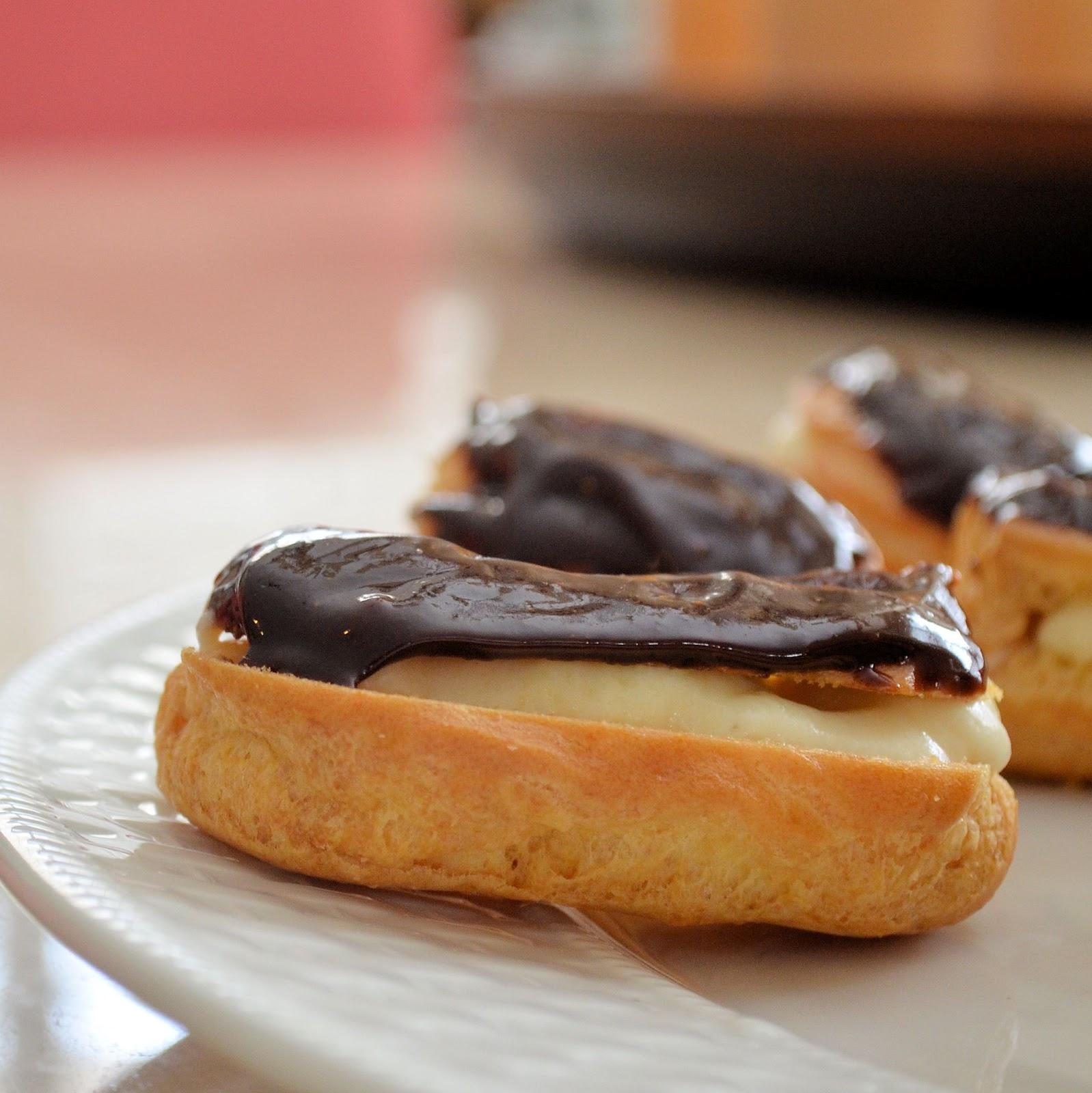 eclairs eclairs chocolate eclairs cappuccino eclairs mini tiramisu ...