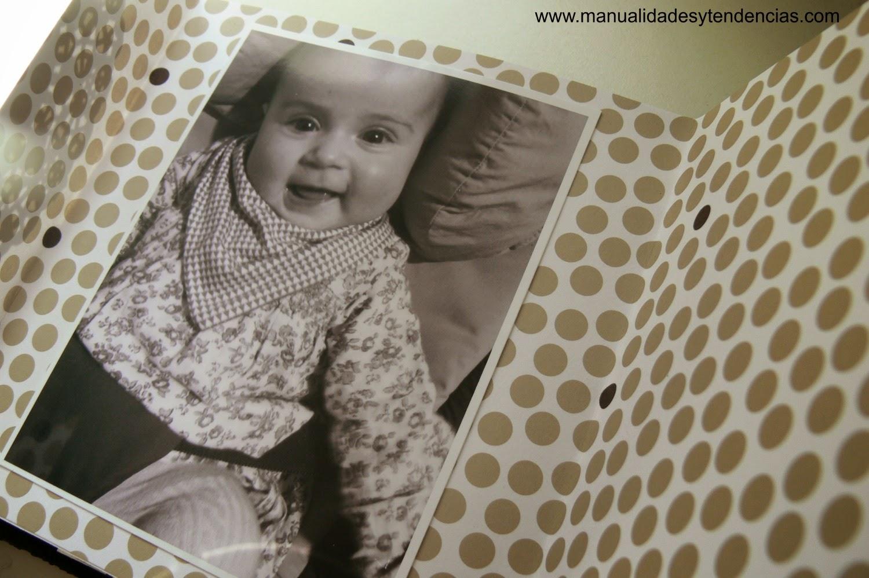 Mini álbum de bebé