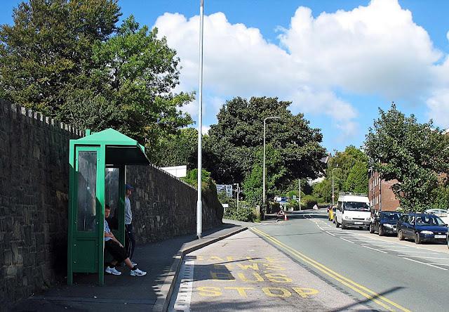 Bangor bus-stop