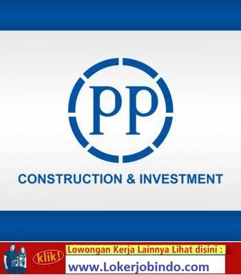 Lowongan Kerja PT PP PRACETAK (Persero)