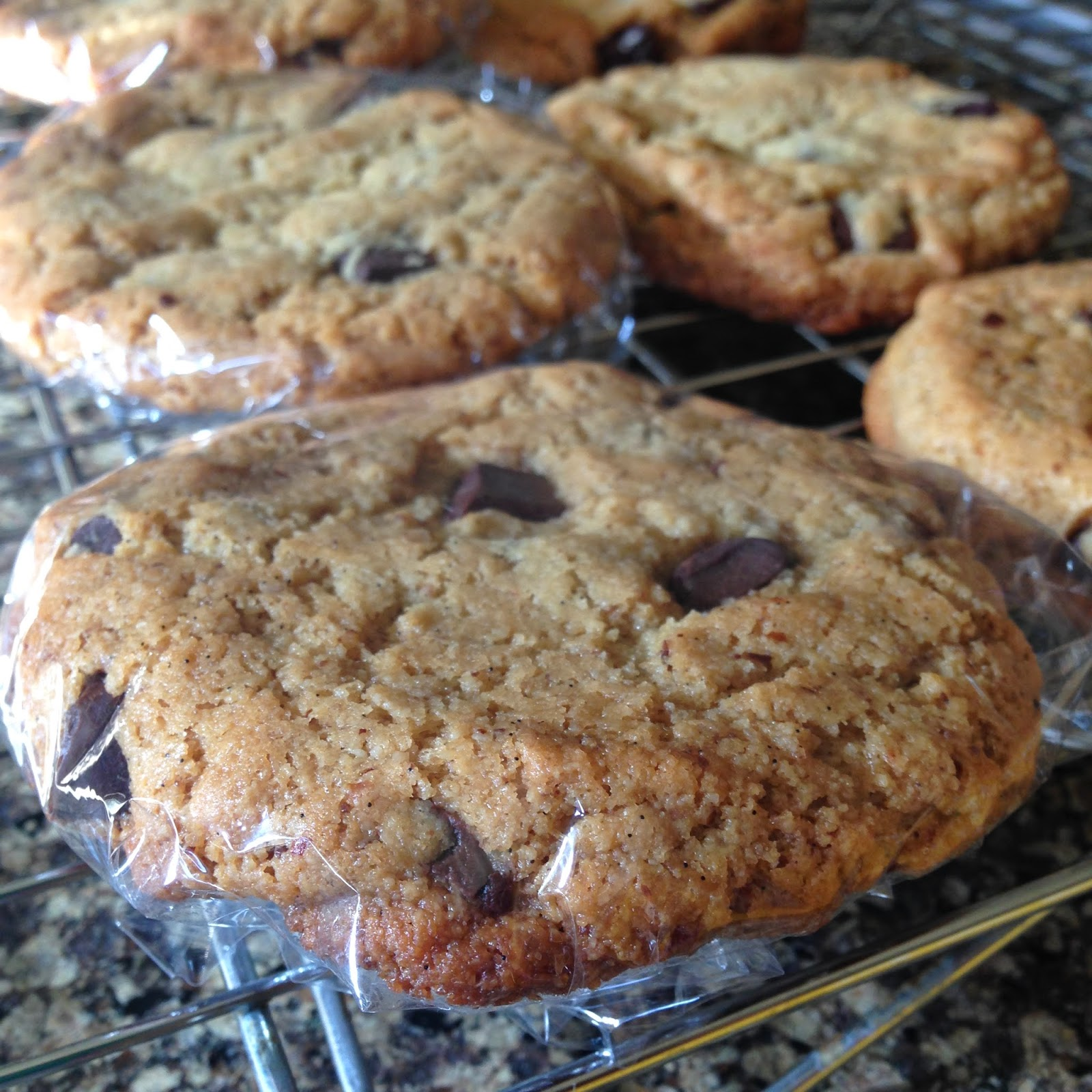 Grain-free egg-free Chocolate Chip Cookie!