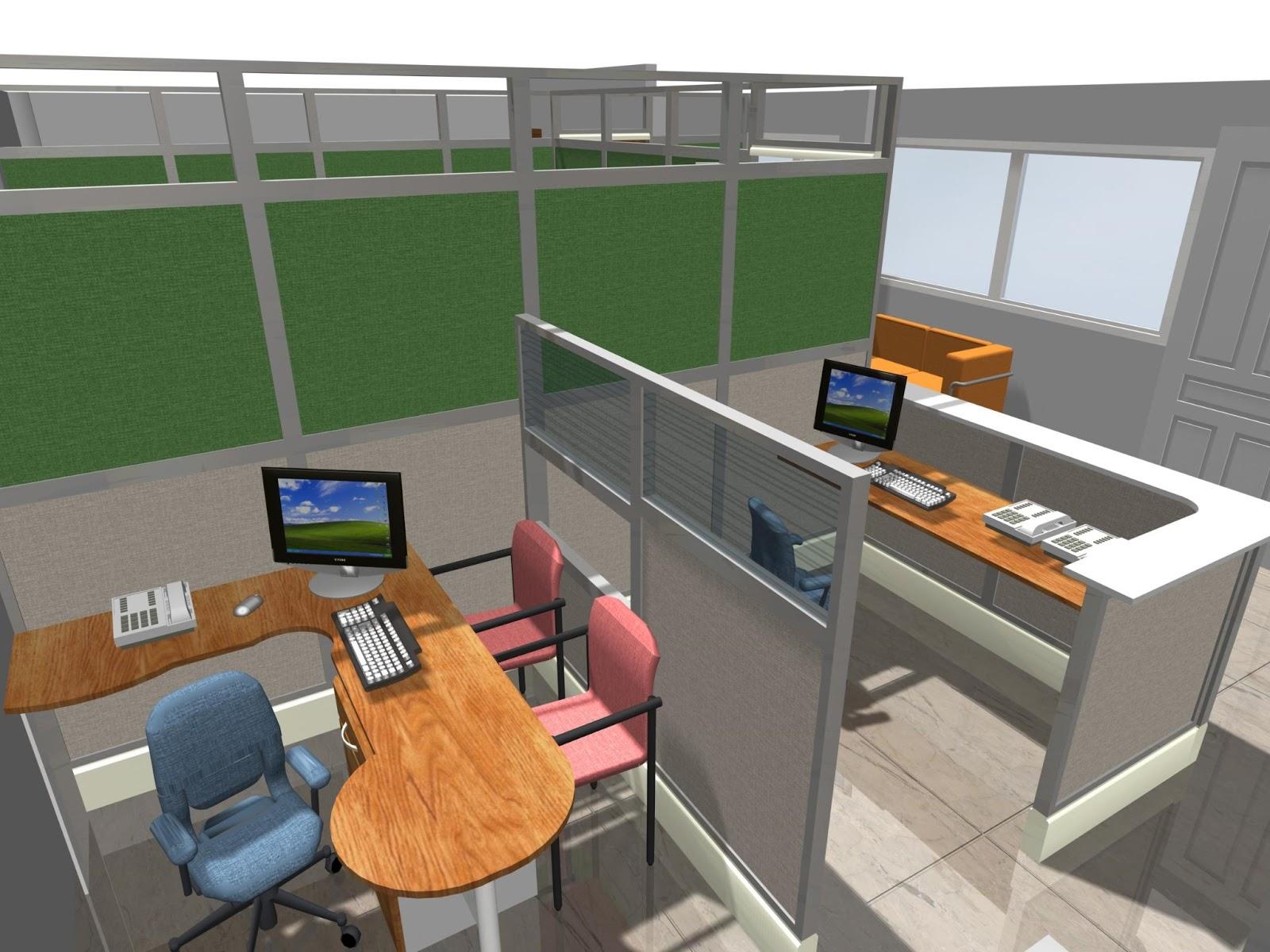 Dise os de oficinas dise o interiorismo construccion for Planos de oficinas administrativas