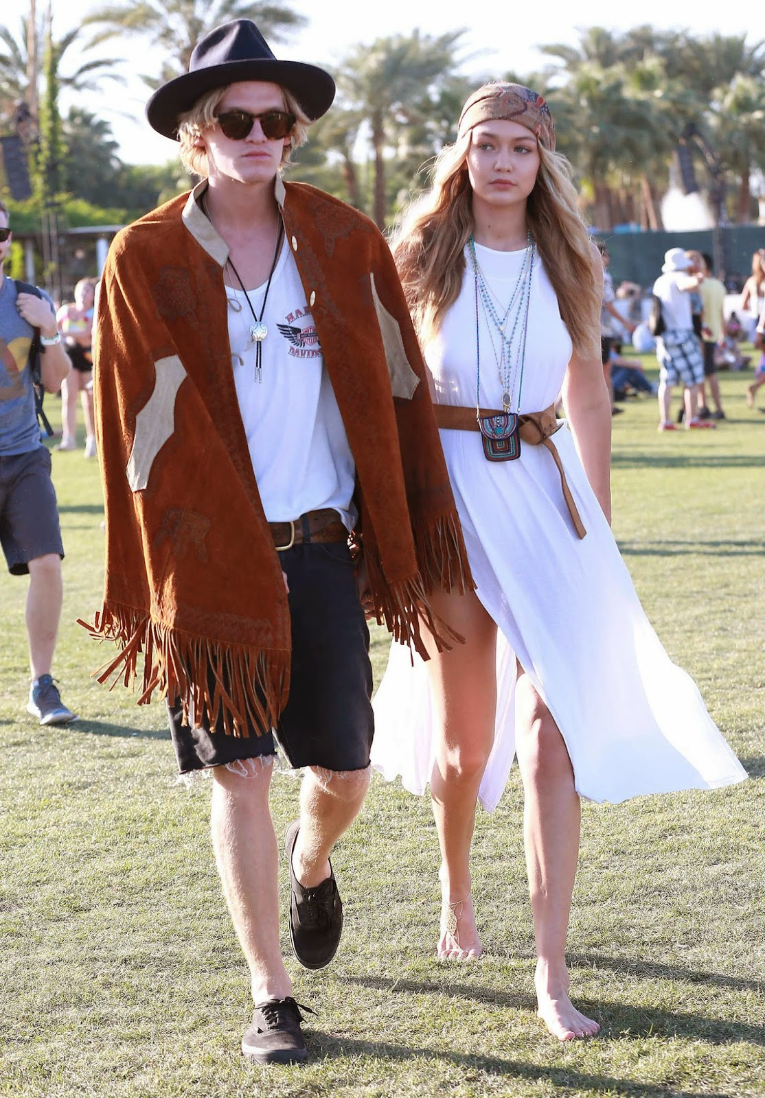 Gigi Hadid – Coachella Valley Music and Arts Festival Day 3 in Indio