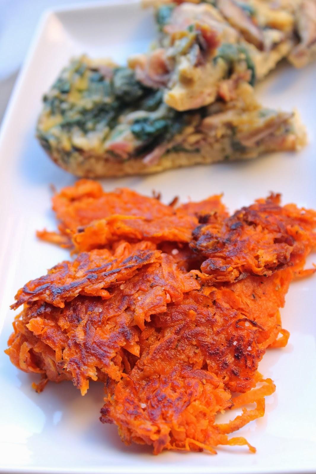 CupcakesOMG!: Easy Sweet Potato Hash Browns