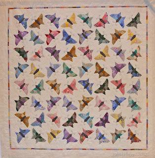 Butterfly Scrap Quilt Fabadashery
