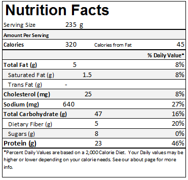 subway roasted chicken breast nutrition facts