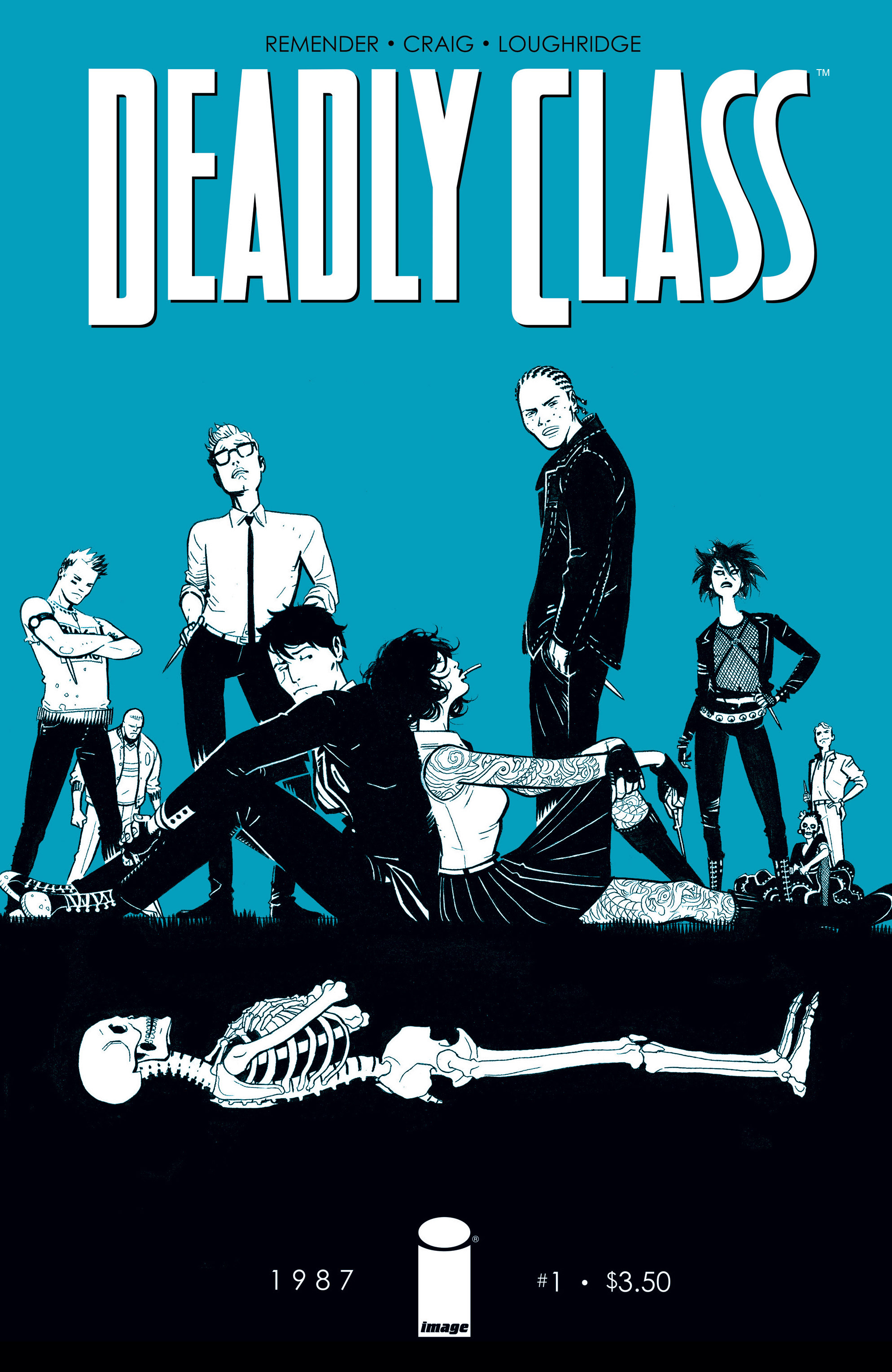 Read online Deadly Class comic -  Issue #1 - 1
