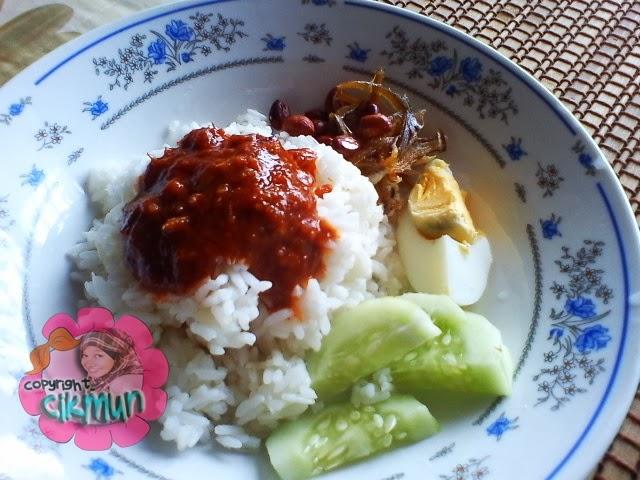 citer mun~, diet, family, kasih ibu, mak, makan, nasi lemak, nasi lemak paling sedap, nasi lemak panas, sarapan