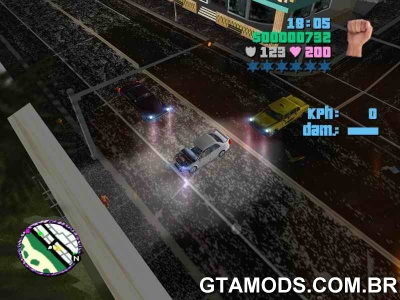 Ruas do NFS Underground para Vice City