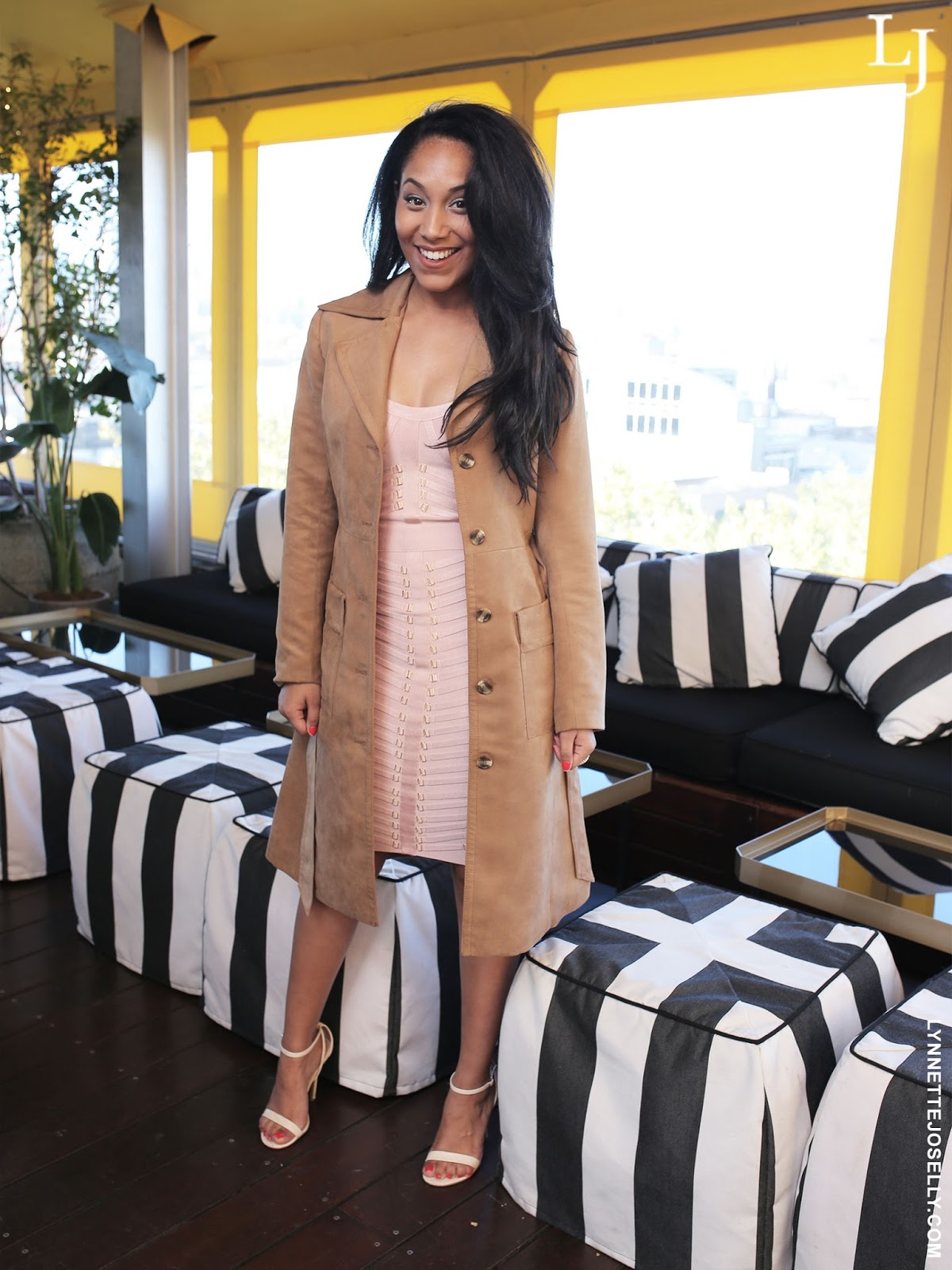 top-glam-boutique-pink-gold-bandage-dress