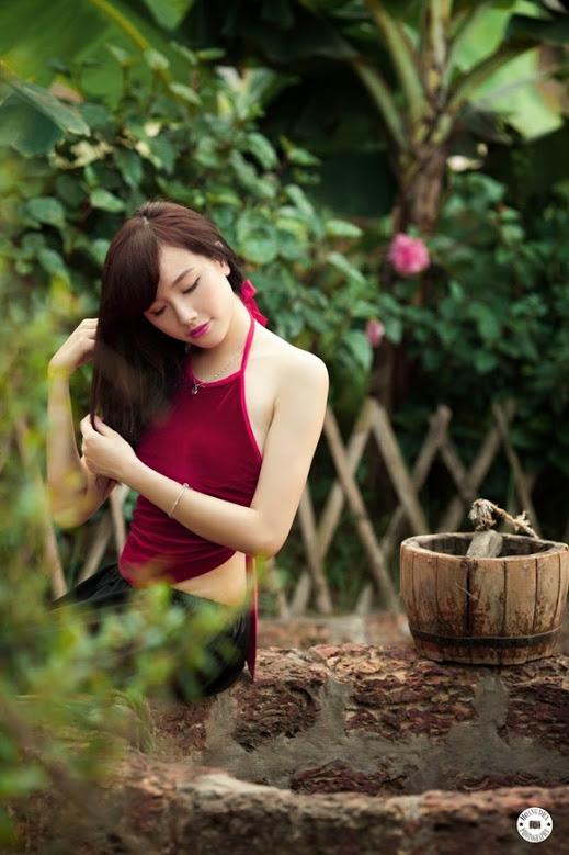 Girl xinh với áo yếm xưa 22
