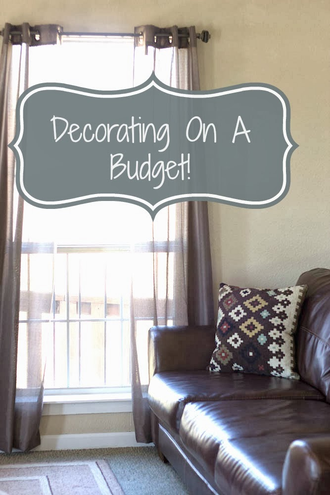THE RUSTIC REDHEAD Decorating On A Budget