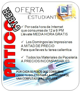 Patico Cyber presenta Super oferta aprovchala ahora
