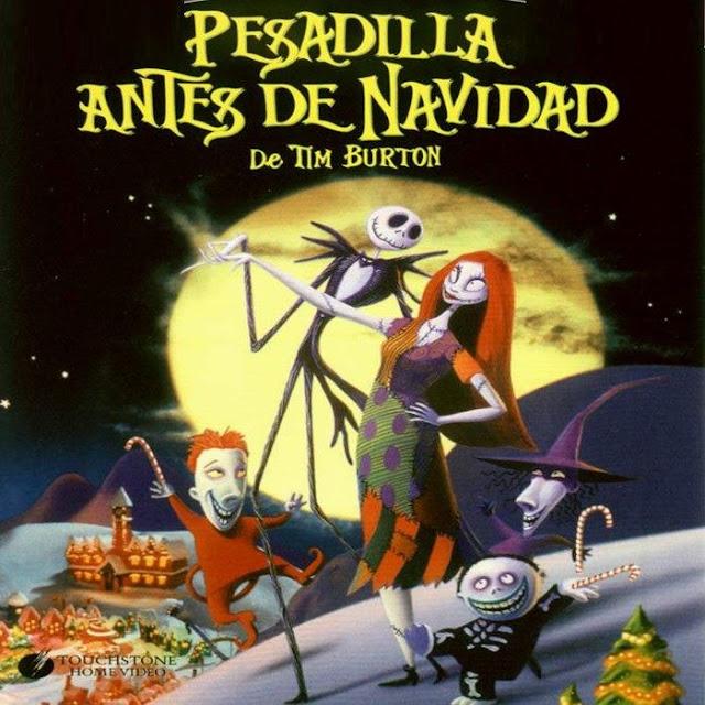 Cartel película 'Pesadilla antes de navidad'