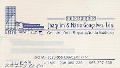 JOAQUIM & M. GONÇALVES LDA