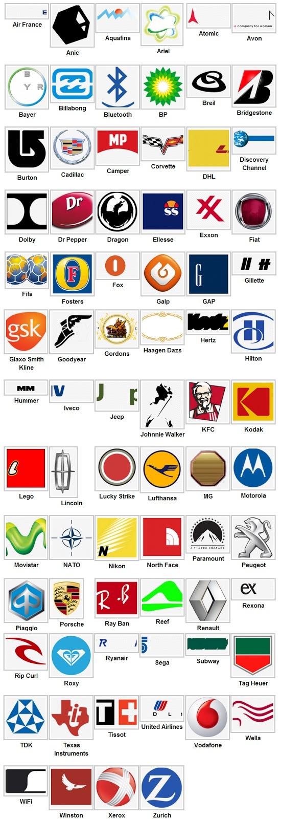 Soluzioni Logo Quiz livello 4 - Logo Quiz risposte livello 4