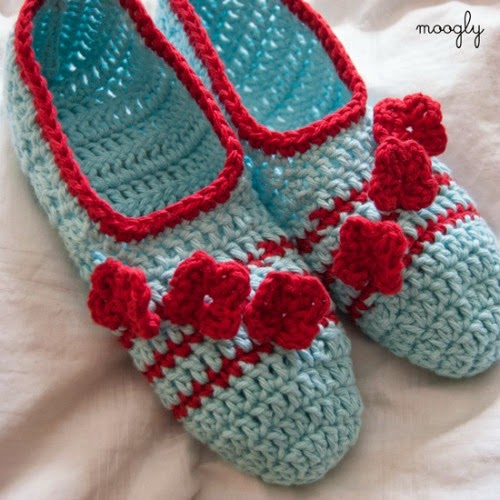 My Hobby Is Crochet 10 Free Slippersbooties Crochet Patterns For