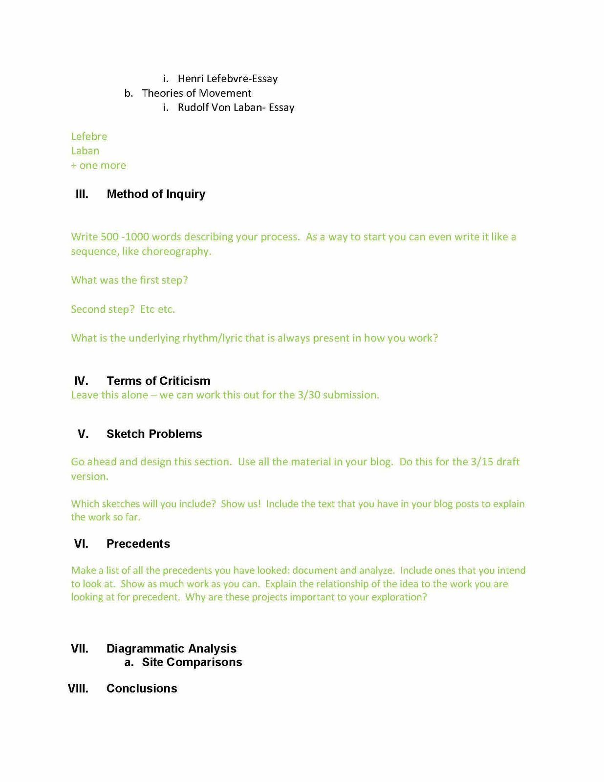 microsoft word outline templates