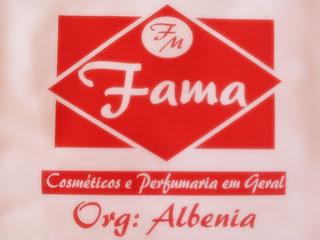 FAMA COSMÉTICOS E PERFUMARIA EM GERAL FONE: 3335 2356 - 9 9121 3252