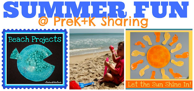 "photo of: Summertime Fun Arts + Crafts at ""PreK+K Sharing"""