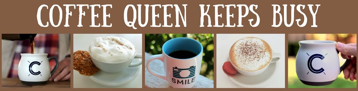 Coffee Queen Keeps Busy