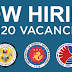 Now Hiring: 3,320 Government Job Vacancies