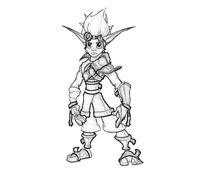 Jak Weapon   How Coloring