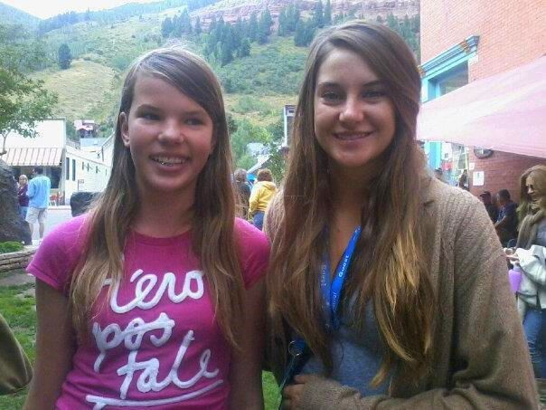 Telluride daily photo shailene woodley and the descendants my daughter left and her friends were excited for the chance to meet shailene woodley right during the telluride film festival m4hsunfo