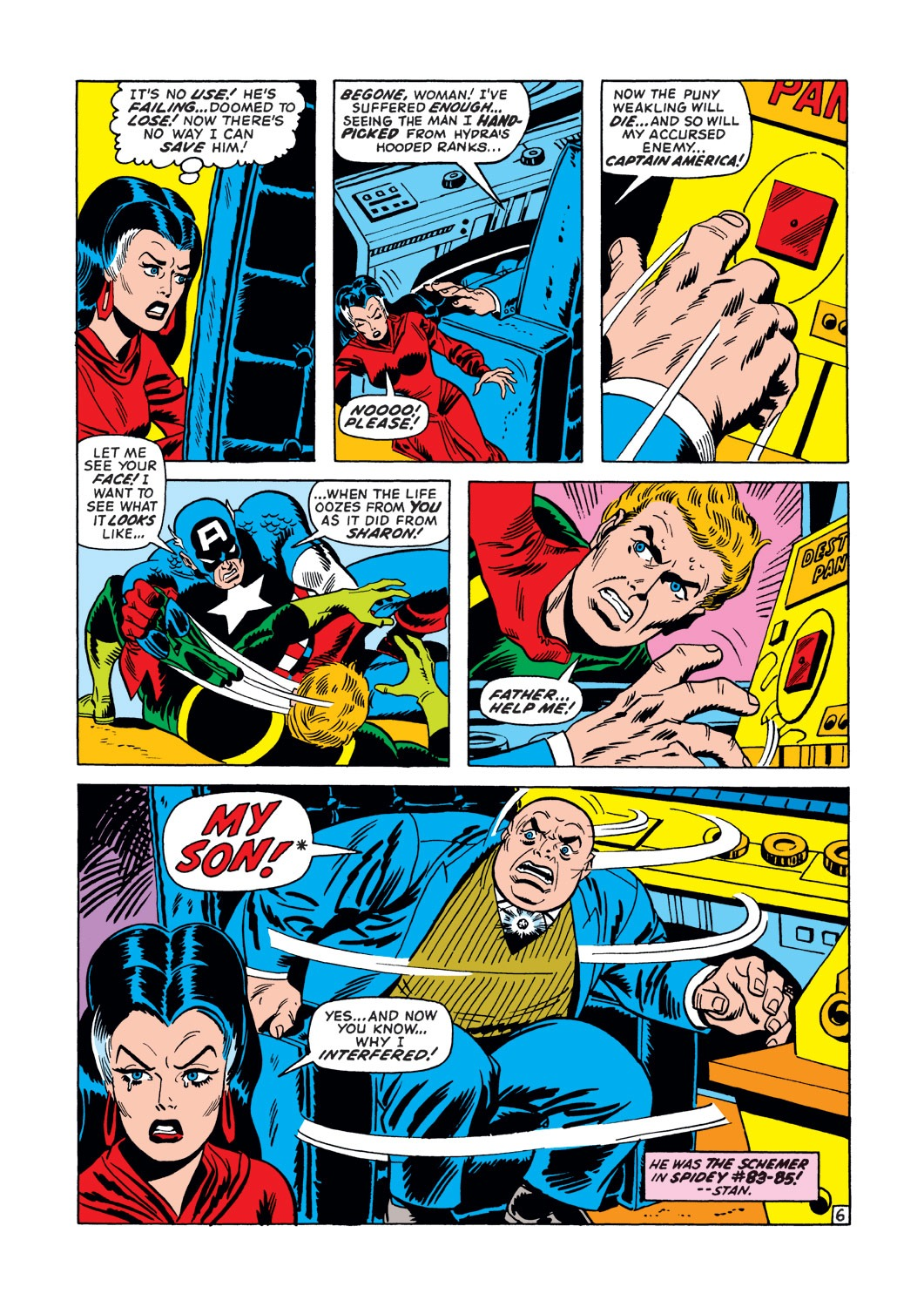 Captain America (1968) Issue #147 #61 - English 7