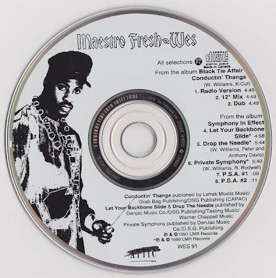 Maestro Fresh-Wes – Conductin' Thangs (1991) (CDM) (320 kbps)