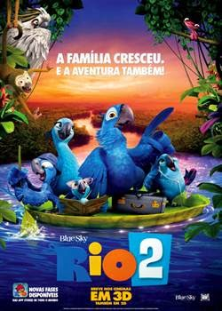 Download Rio 2 Dublado RMVB + AVI Torrent   Baixar Torrent