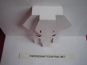 Elefánt a képeslapban