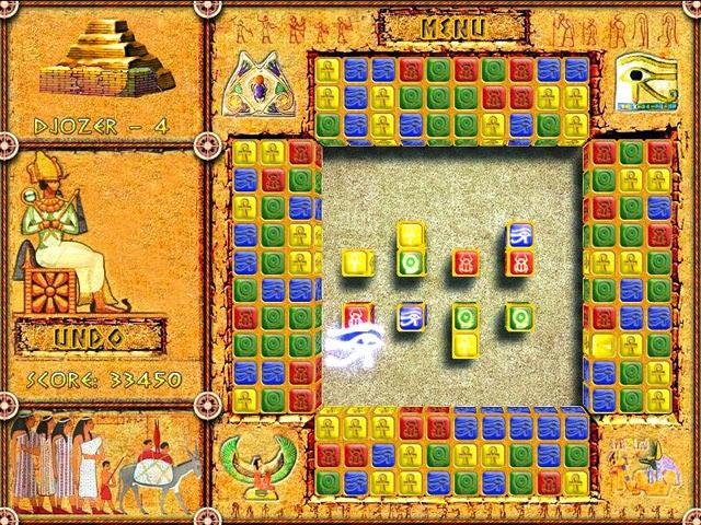 Brickshooter Mesir - Permainan bata gratis