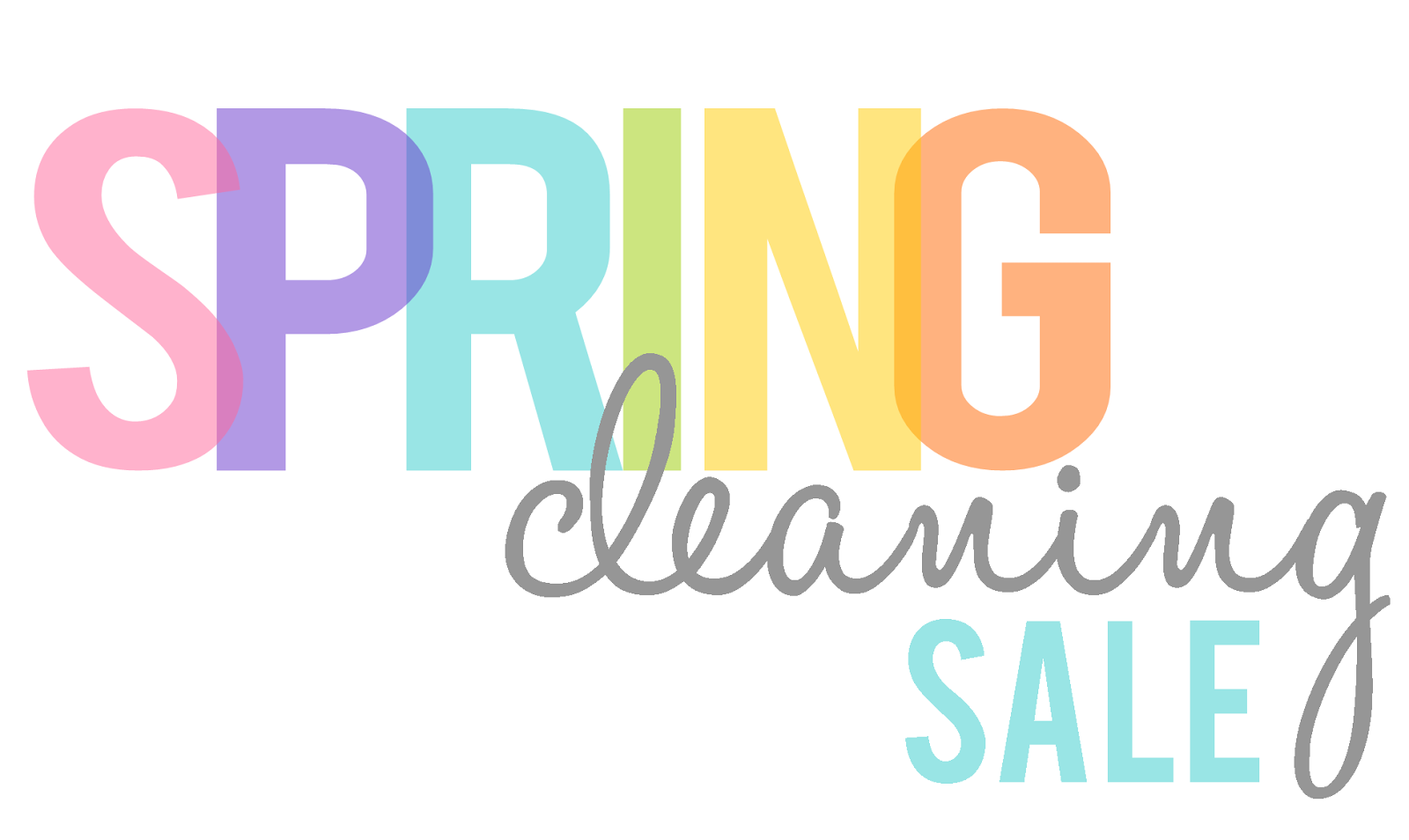 Spring Clean Awesome Of Spring Cleaning Sale Photo