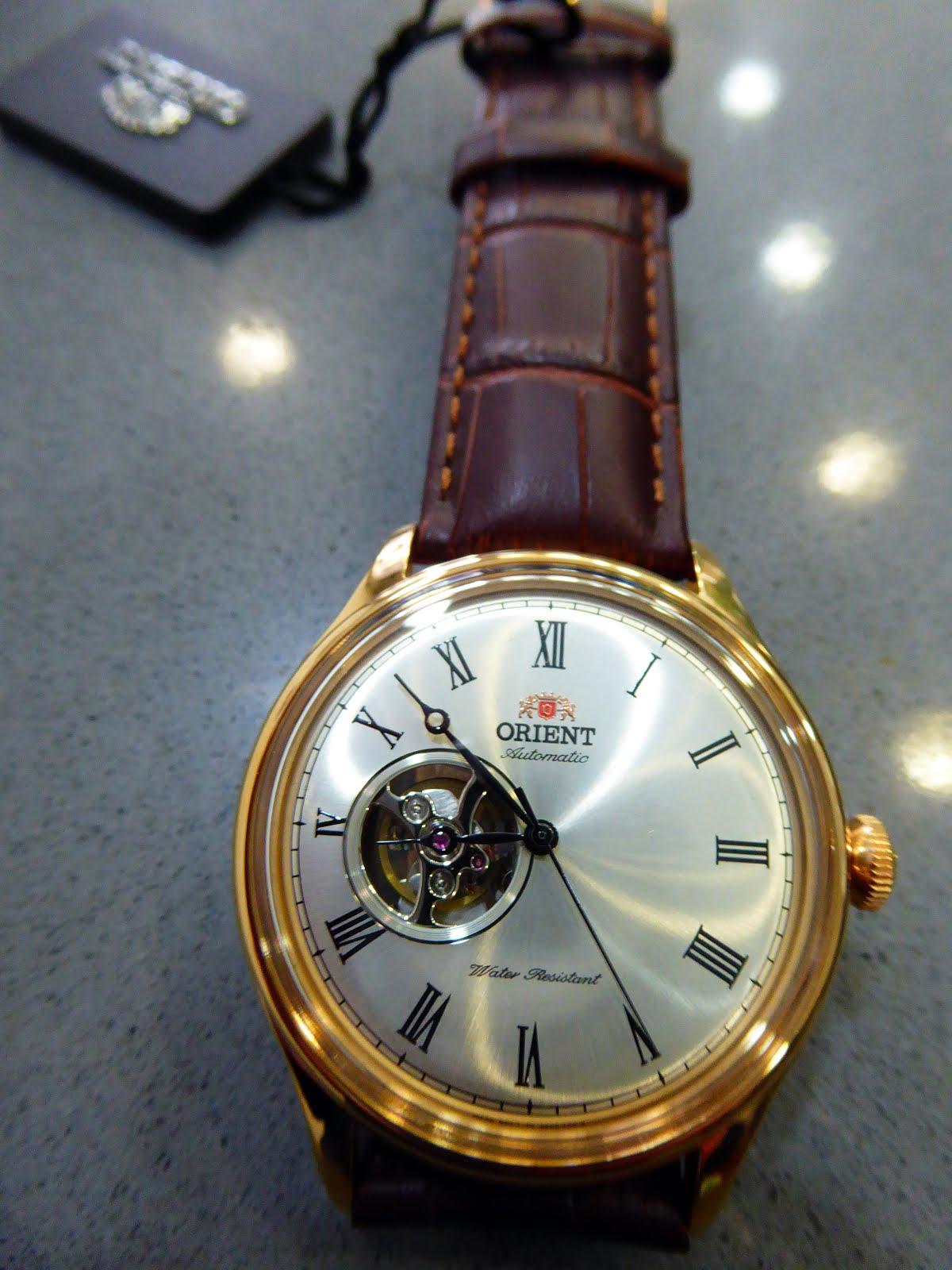 Extraordinario Reloj Orient Automático