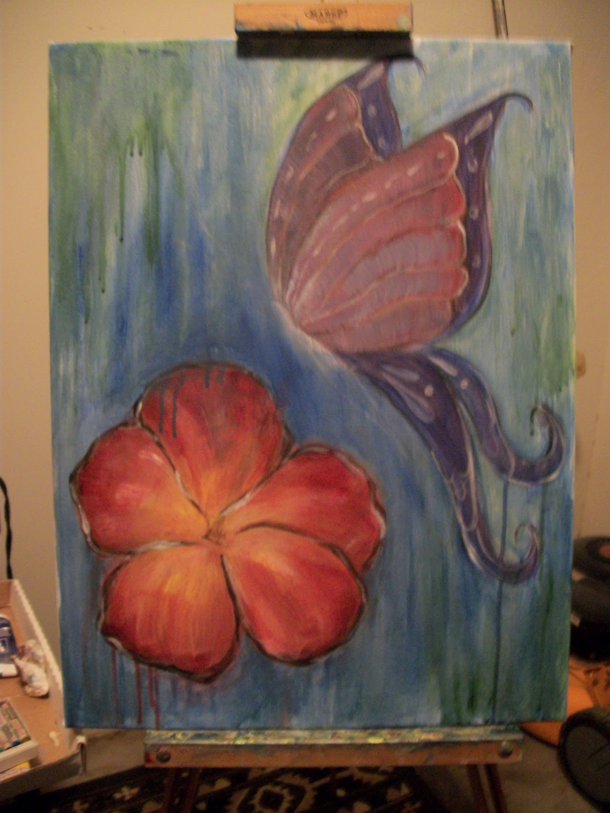 Gallery for easy fairy paintings for Fairy painting easy
