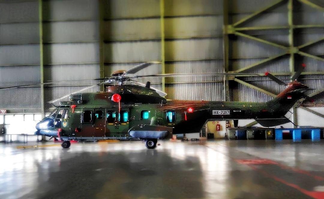 Helikopter EC-725 Cougar buatan PT DI (photos : defence.pk)