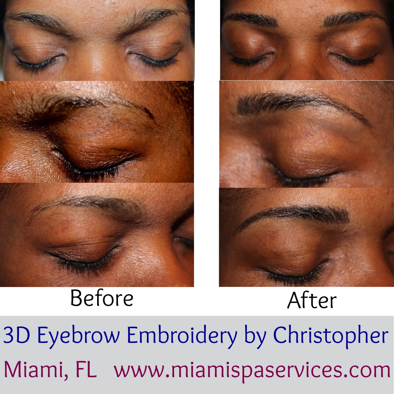 Miami Brows The Brow Blog By Christopher Drummond Hd Eyebrows