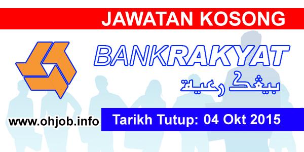 Jawatan Kerja Kosong Bank Kerjasama Rakyat Malaysia Berhad logo www.ohjob.info oktober 2015
