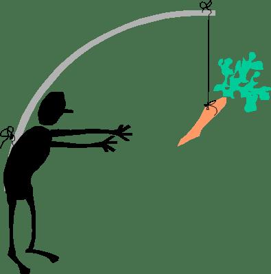 dangling carrot idiom