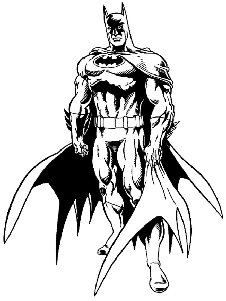 free gotham city coloring pages - photo#23